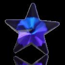 stenen 10mm blauw ster