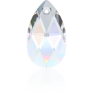 Swarovski pear shaped pendant 16mm crystal ab