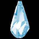 Swarovski Pendant Polygon Druppel Aqua