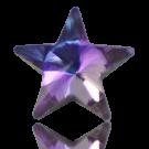 stenen 10mm paars ster