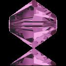 Swarovski XILION Beads 5328 konische kralen 3mm Amethyst