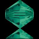 Swarovski XILION Beads 5328 konische kralen 3mm Emerald