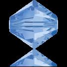Swarovski Beads 5328 3mm XILION Bicone Light Sapphire