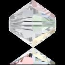Swarovski Beads 5328 4mm XILION Bicone Crystal Aurore Boreale