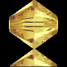 Swarovski Xilion Beads 4mm kralen konisch 5328 Lime
