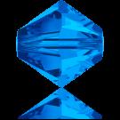 Swarovski Beads 5328 4mm XILION Bicone Sapphire
