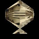 Swarovski Xilion Beads 4mm kralen konisch 5328 Smoky Quartz