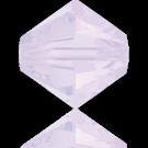 Swarovski Beads 5328 4mm XILION Bicone Violet Opal 389