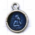 tinhangers 18mm blauw engel tin