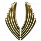 tinhangers 65mm goud speciaal tin kleurnummer 737