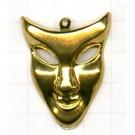 tinhangers 36mm goud masker tin