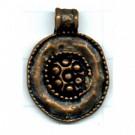 tinhangers 25mm brons rond tin