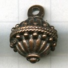 tinhangers 19mm brons rond tin