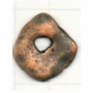 tinhangers 18mm brons vierkant tin