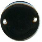 tussenzetsels 20mm zwart rond