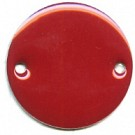 tussenzetsels 20mm rood rond