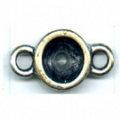 tussenzetsels 8mm oudzilver rond tin