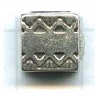 schuiver 9mm oudzilver vierkant kleurnummer 735