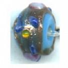 glaskralen 6mm blauw rond kleurnummer 306