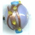 glaskralen 8mm paars rond kleurnummer 2300