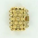 verdeelsluitingen 20mm goud rechthoek