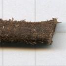 leren veters 6mm bruin rond kleurnummer 3