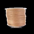 Waxkoord 0,5mm katoen naturel beige rond