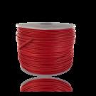 Waxkoord 0,5mm katoen rood rond