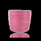 Waxkoord 0,5mm katoen roze rond