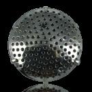 broches zeef 36mm zilver rond metaal