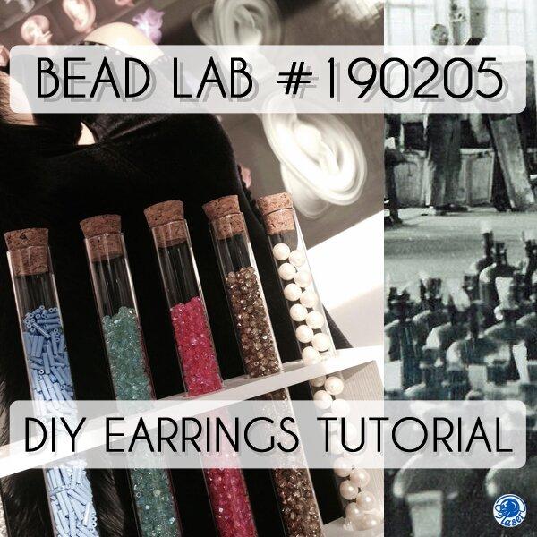 Zelf simpele oorbellen maken met glaskralen