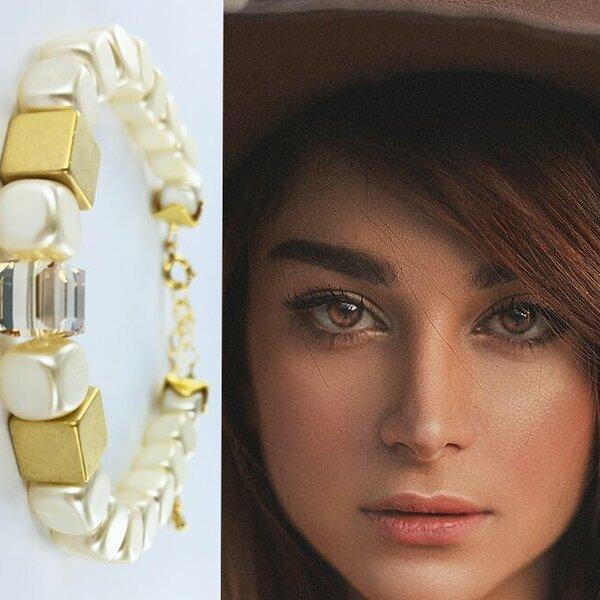 Nieuwe armbanden met mooie parels maken
