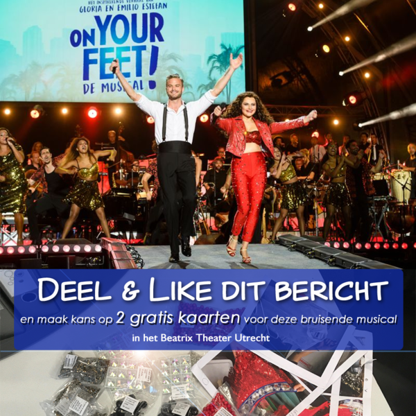 Win 2 Kaarten On Your Feet!