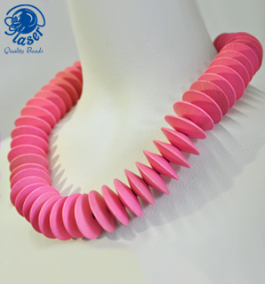 Jewelry Inspiration Pink Necklace Nr 1090