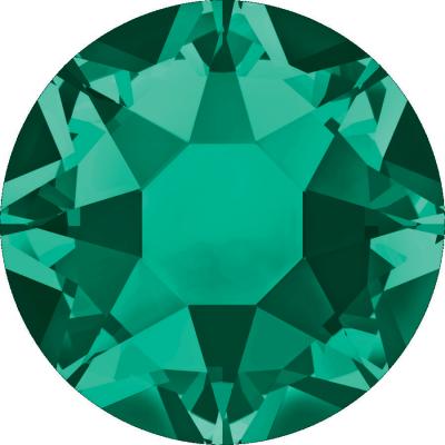 Swarovski Flatbacks Hotfix 2038 SS10 Emerald 205