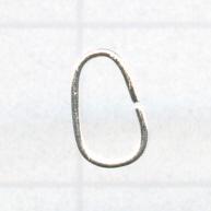 aanbuigringen 7mm zilver ovaal