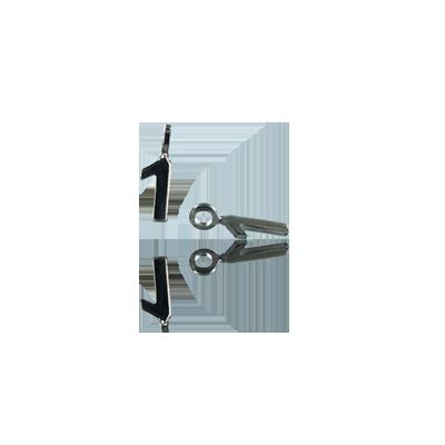 bedels hanger 11mm zilver cijfer 1