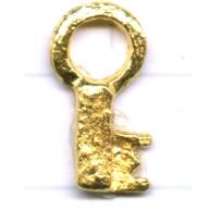 bedels 18mm goud speciaal tin