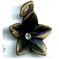 bedels 22mm oudgoud bloem tin