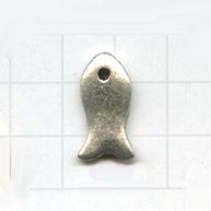 bedels 21mm oudzilver dier tin