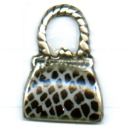 bedels 21mm prachtig zilver tasje