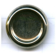 boutons 18mm zilver rond staal