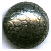 boutons 18mm zwart rond metaal