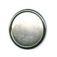broches 35mm zwart rond metaal