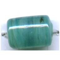 buisjes 15mm turquoise cilinder glas