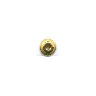eindklemmen 6mm goud cilinder