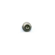 eindklemmen 6mm zilver cilinder