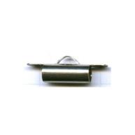 eindklemmen 15mm zilver cilinder