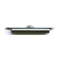eindklemmen 38mm zilver cilinder