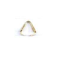 eindklemmen 8mm goud driehoek